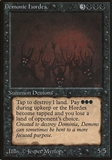Magic the Gathering Beta Single Demonic Hordes - MODERATE PLAY (MP)