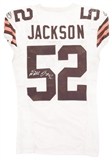 D'Qwell Jackson Autographed Cleveland Browns Game Used Jersey (PSA)