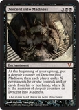 Magic the Gathering Avacyn Restored Single Descent into Madness - NEAR MINT (NM)