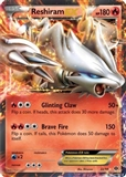 Pokemon Next Destinies Single Reshiram EX 22/99