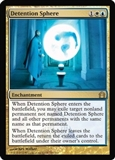 Magic the Gathering Return to Ravnica Single Detention Sphere Foil