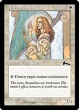 Magic the Gathering Urza's Legacy Single Devout Harpist Foil