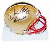 Doug Flutie Autographed Boston College Mini Helmet with Heisman 84 inscription