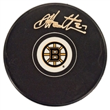 Dougie Hamilton Autographed Boston Bruins Hockey Puck (Frameworth)