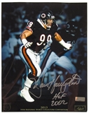 Dan Hampton Autographed 8x10 Photo 2013 The National Panini VIP Signings
