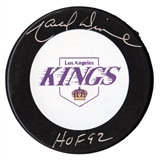 Marcel Dionne Autographed Los Angeles Kings Hockey Puck (JSA)