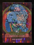 2012/13 In the Game Between The Pipes Masked Men V Rainbow #MM17 Rick DiPietro
