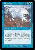 Magic the Gathering Urza's Destiny Single Disappear FOIL