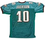 DeSean Jackson Autographed Philadelphia Eagles Authentic Reebok Official Jersey (JSA)