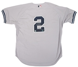"Derek Jeter Autographed NY Yankees Jersey w/ ""Team of the Decade"" Inscription (Steiner)"