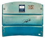 Derek Jeter Autographed New York Yankees Offical Stadium Seat Back (Steiner & JSA)