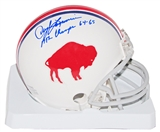 Daryle Lamonica Autographed Buffalo Bills Throwback Mini Helmet