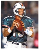 Dan Marino Autographed Miami Dolphins 11x14 Photograph (PSA)