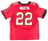 Doug Martin Autographed Tampa Bay Buccaneers Nike Jersey (JSA)