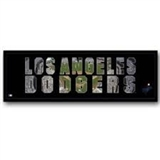Artissimo Los Angeles Dodgers Team Pride 20x8 Canvas