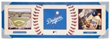 Los Angeles Dodgers Artissimo All-Star Tri-Panel 30x10 Canvas