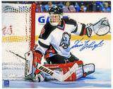 Dominik Hasek Autographed Buffalo Sabres 8x10 White Jersey Photo