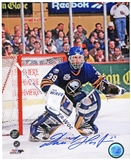 Dominik Hasek Autographed Buffalo Sabres 8x10 Hockey Photo (Frozen Pond COA)