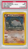 Pokemon Neo Destiny Single Dark Donphan 3/105 - PSA 9 - *21624608*