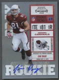 2010 Playoff Contenders #150 Jim Dray Rookie Autograph