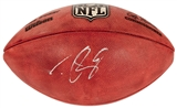 Drew Brees Autographed New Orleans Saints Official Wilson Duke Football (JSA)