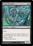 Magic the Gathering Mirrodin Single Dross Prowler Foil