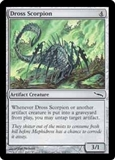 Magic the Gathering Mirrodin Single Dross Scorpion Foil