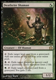 Magic the Gathering Return to Ravnica Single Deathrite Shaman FOIL - SLIGHT PLAY (SP)