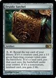 Magic the Gathering 2012 Single Druidic Satchel Foil