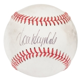 Don Drysdale Autographed Los Angeles Dodgers Official MLB Baseball (PSA Letter)