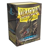 Dragon Shield Card Sleeves - Brown (100)