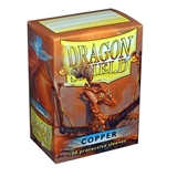 Dragon Shield Card Sleeves - Copper (100)