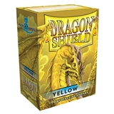 Dragon Shield Card Sleeves - Yellow (100)