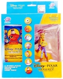 Disney Pixar Treasures Trading Cards Box with Woody Figure