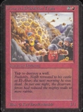 Magic the Gathering Alpha Single Dwarven Demolition Team - SLIGHT PLAY (SP)