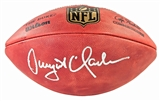 Dwight Clark Autographed San Francisco 49ers Wilson Authentic Game Ball (JSA)