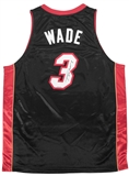 Dwyane Wade Autographed Miami Heat Adidas Authentic Basketball Jersey (Upper Deck)