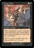 Magic the Gathering Urza's Destiny Single Dying Wail FOIL
