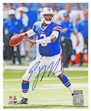EJ Manuel Autographed Buffalo Bills 8x10 Football Photo Panini COA