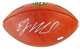 EJ Manuel Autographed Buffalo Bills Wilson Official NFL Football Panini COA