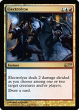 Magic the Gathering Promo Single Electrolyze - IDW