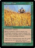 Magic the Gathering Visions Single Elephant Grass UNPLAYED (NM/MT)