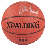 Elton Brand Autographed Chicago Bulls I/O Spalding Basketball (Press Pass)