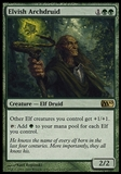 Magic the Gathering 2010 Single Elvish Archdruid - SLIGHT PLAY (SP)