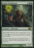 Magic the Gathering 2011 Single Elvish Archdruid - SLIGHT PLAY (SP)