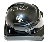 Evgeni Malkin Autographed Pittsburgh Penguins Black Mini Helmet (Frameworth & JSA)