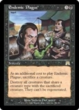 Magic the Gathering Onslaught Single Endemic Plague - NEAR MINT (NM)