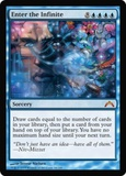 Magic the Gathering Gatecrash Single Enter the Infinite UNPLAYED (NM/MT)
