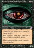 Magic the Gathering Legends Single Evil Eye of Orms-by-Gore LIGHT PLAY (NM)