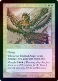 Magic the Gathering Onslaught Single Exalted Angel FOIL - SLIGHT PLAY (SP)